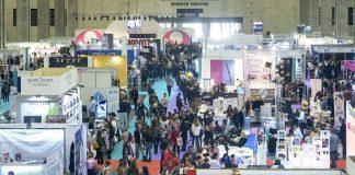 The hall of Beauty Valencia fair