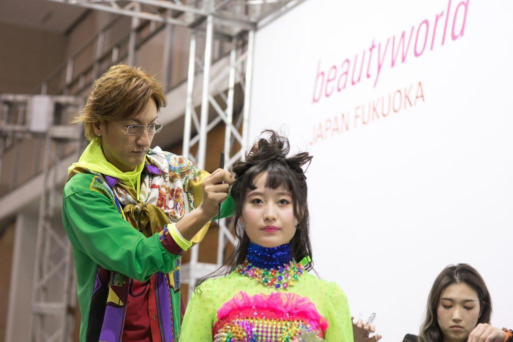 Fokuoka fair Beautyworld Japan