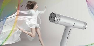 Image presenting the new IQ Perfetto Hairdryer by GA.MA